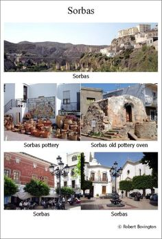 Visited the pottery town of Sorbas twice in September 2005 © Robert Bovington Old Pottery, Natural Park, The Province, Andalucia, Mansions, House Styles, City, Nature, September