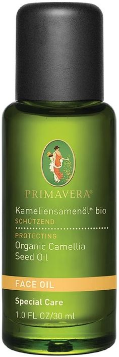 Primavera Organic Camellia Seed Oil ideal as a facial oil. Primavera Organic Camellia Seed Oil. Origin: China. Organic Camellia Seed Oil is rich in fatty acids, this unique oil restores elasticity, balance and smoothness to skin. Precious, organic face oil of the Japanese tree famous for Green Tea. Traditionally used as hair oil. It is ideal for sensitive skin as it softens, conditions and moisturises. Vegan.