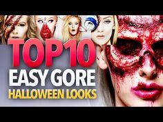 Top 10 Easy Gore Halloween Makeup Tutorials