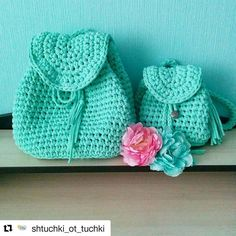 #Repost @shtuchki_ot_tuchki with @repostapp ・・・ Рюкзаки для мамы и дочки…