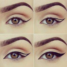Seriously gorgeous! Love this #eyeliner tutorial from artist @miaumauve #jadeywadey180