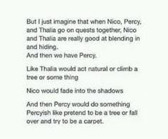 Image result for percy jackson memes<<< they did go on a quest together, to return Hades his sword.