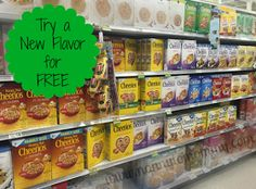 Snag a BOGO Cheerios coupon to try a different flavor today PLUS they are BOGO this week at Publix! #ad