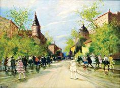 Avenue Andrássy - (Antal Berkes)