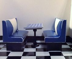 Restaurant Booth Set for Bratz, Barbie and Monster High Dolls. $40.00, via Etsy.