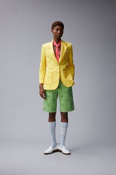 Thom Browne Resort 2018 Fashion Show Collection Catwalk Collection, Fashion Show Collection, Vogue Paris, Look 2018, Dressy Shorts, Thom Browne, Resort Wear, Mannequins, Work Wear