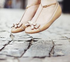 Check out these adorable ballet flats by WishWishWish. We love these uber feminine bows!