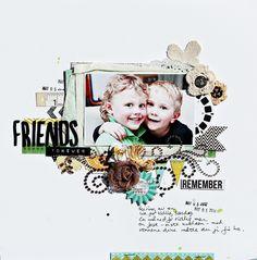 Friends forever - Scrapbook.com  Christin Grønnslett