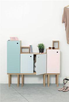 Collage Cabinet by Sigrid Strömgren