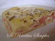 Só Receitas Simples: Torta de Queijo com Massa de Pastel