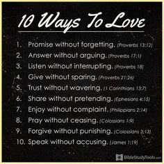 Quotes About Love  10 Ways to Love