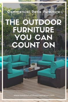 Commercial Outdoor Furniture: The Outdoor Furniture You Can Count On Commercial Patio Furniture, Outdoor Furniture Sets, Outdoor Decor, Choices, Count, Outdoors, Spaces, Canning, Park
