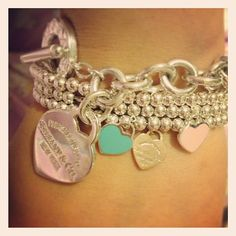 Tiffany & Co. Bracelet to match my necklace. Since valentines day is coming up ;)