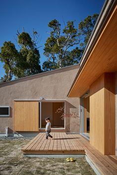 Japanese Modern House, Muji Home, Hidden House, Zen House, Tower House, Retro Stil, Decoration Design, Architecture Design, House Plans