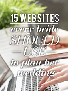 in addition to pinterest obviously #weddingwebsites