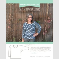 free pattern - One Hour Top PDF Pattern | Fancy Tiger Crafts