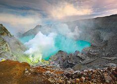 Java's volcanoes, Indonesia