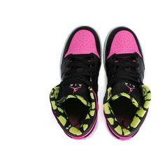 AIR JORDAN 1 PHAT (WMNS) - Sneaker Releases - Sneaker Freaker Magazine ❤ liked on Polyvore