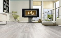 BuildDirect®: Toklo by Swiss Krono Laminate - Exquisit Collection Home, Contemporary Fireplace, Home Remodeling, Family Living Rooms, House Floor Plans, Flooring, Interior Design, Home And Living, Flooring Trends
