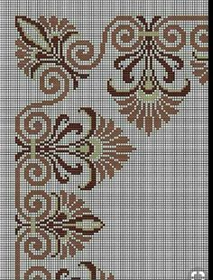 Saw this on dark fabric done with white/cream no. 8 perle cotton Saw this on dark fabric done with white/cream no. Xmas Cross Stitch, Cross Stitch Rose, Cross Stitch Borders, Cross Stitch Flowers, Cross Stitch Designs, Cross Stitching, Cross Stitch Embroidery, Embroidery Patterns, Cross Stitch Patterns