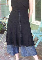 Ravelry: The little Black Dress pattern by Gudrun Johnston-free pattern