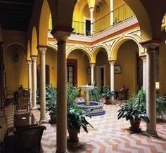 Las Casas de la Juderia - Seriously one of the nicest hotels I've stayed in in the past few years.
