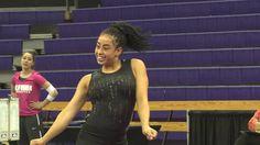 Sophina DeJesus Dances Her Way Through Pac-12 Practice