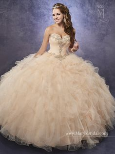 b95e0ccf7f9 Mary s Bridal Princess Collection Quinceanera Dress Style 4Q484