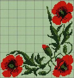 This Pin was discovered by Eli Cross Stitch Borders, Cross Stitch Rose, Cross Stitch Flowers, Cross Stitch Charts, Cross Stitch Designs, Cross Stitching, Embroidery Sampler, Cross Stitch Embroidery, Embroidery Patterns