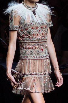 Valentino Fashion Show & more detail