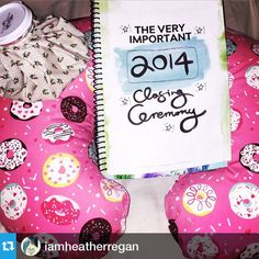 It's never too late @iamheatherregan! #2015workbook #closingceremony #newyear #goals #reflections #planner www.2015workbook.com