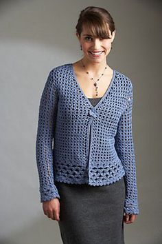 Ravelry: Bluebell Cardigan pattern by Edie Eckman Spring 2011