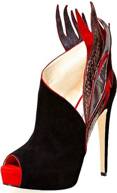Flame Bootie By Brian Atwood