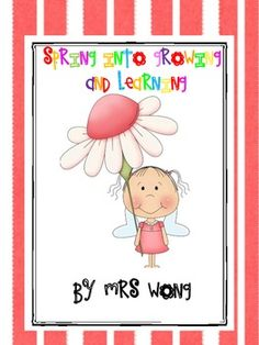 A 90 pages Spring Unit Language Arts and Maths for K-1