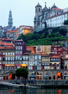 Porto Portugal as a whole is enjoying a hot tourist moment, with food critics and travel writers, families and foodies the world over pouring into the restaurants of Lisbon, the beaches of the Algarve—and Porto, wine capital and namesake of the country. Places Around The World, Oh The Places You'll Go, Travel Around The World, Places To Travel, Places To Visit, Around The Worlds, Portugal Porto, Spain And Portugal, Portugal Travel