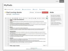 MyPads : l'alternative de Framasoft à Google Docs