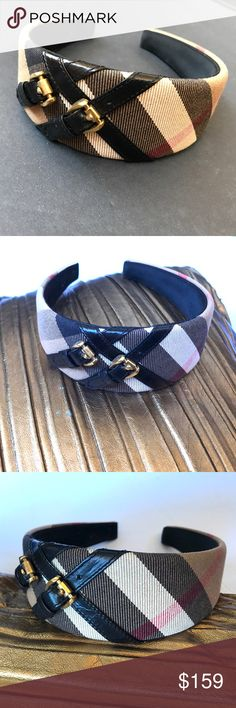 Burberry Headband Nearly New Super pretty... in perfect condition..  Burberry Accessories Hair Accessories