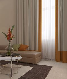 Home Decorators Collection Flooring Code: 3515871909 Home Curtains, Curtains Living, Curtains With Blinds, Window Curtains, Estilo Color Block, Rideaux Design, Interior Decorating, Interior Design, Curtain Designs