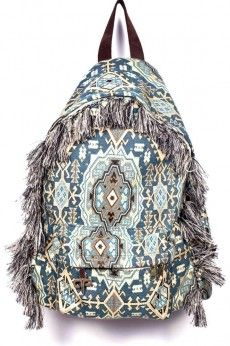 Ethnic_boho_backpack_apergis_esopou_3a World Of Fashion, Fashion Online, New Fashion Trends, Handmade Clothes, Casual Shoes, Fashion Backpack, Ethnic, Brand New, Backpacks