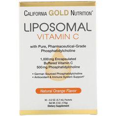 all natural vitamins : California Gold Nutrition Liposomal Vitamin C Natural Orange Flavor 1000 mg 30 Packets oz ml) Each All Natural Vitamins, Natural Vitamin C, Natural Health, Best Vitamin C, Vitamin C Benefits, Vitamin C Supplement, Natural Preservatives, Natural Supplements, Orange
