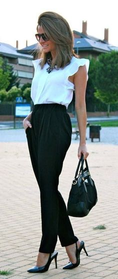 #street #style / work in style black and white
