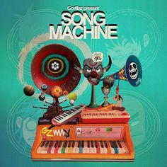 Song Machine Season One Strange Timez Gorillaz Album