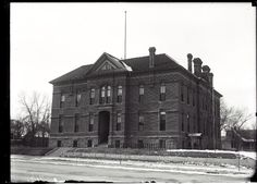 Franklin Grade School, Ft. Collins. 1914-1918. UHPC, University Archive, Archives and Special Collections, CSU, Fort Collins, CO