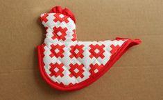 chicken potholder sewing pattern