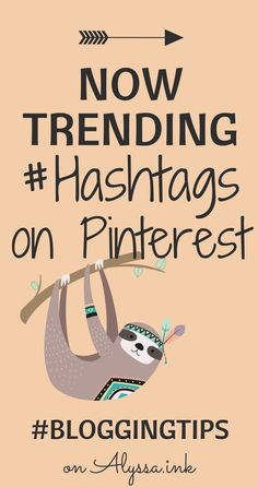 Bloggers can now use hashtags on Pinterest to drive more traffic to their blog. #BloggingTips, #BloggingForBeginners