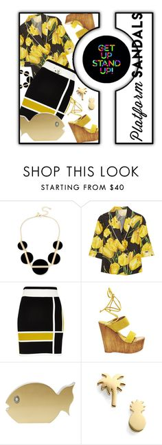 """""""Get Up - Stand Up"""" by no-where-girl ❤ liked on Polyvore featuring INC International Concepts, Dolce&Gabbana, River Island, Steve Madden, Ashlyn'd, Seoul Little and platforms"""
