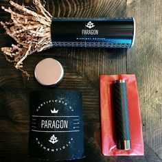 They have arrived! Paragon limited midnight edition. -carbon fiber over copper tube -Brushed black rhodium plated top cap