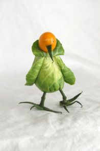 Play With Your Food! Make This Brussels Sprout Bird --> http://www.hgtvgardens.com/photos/play-with-your-food-tropical-bird-0000013e-1887-dc4a-a77e-b98fcc940000?soc=pinterest