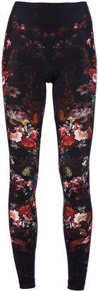 ShopStyle: Alexander McQueen Floral Print Leggings