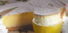 Marco Pierre White's Harvey's Lemon Tart with a small lemon soufflé recipe from P & O Cruises